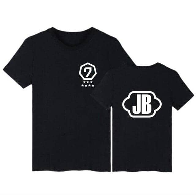 Kpop Newest BAMBAM TShirts GOT7 Kpop JB JR Jackson Short Sleeve T-shirts With GOT 7 K-POP Hip Hop T Shirt Women Cotton Tee Shirt femme that you'll fall in love with. At an affordable price at KPOPSHOP, We sell a variety of BAMBAM TShirts GOT7 Kpop JB JR Jackson Short Sleeve T-shirts With GOT 7 K-POP Hip Hop T Shirt Women Cotton Tee Shirt femme with Free Shipping.
