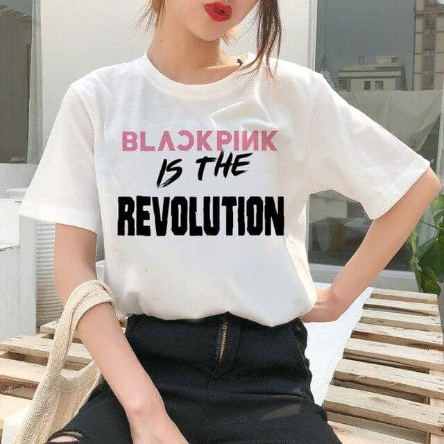 Kpop Newest Blackpink T Shirt T-shirt Harajuku Kill This Love LISA JISOO JENNIE 90s ROSE Cartoon Tshirt Women Top Tee Fashion Female Ullzang that you'll fall in love with. At an affordable price at KPOPSHOP, We sell a variety of Blackpink T Shirt T-shirt Harajuku Kill This Love LISA JISOO JENNIE 90s ROSE Cartoon Tshirt Women Top Tee Fashion Female Ullzang with Free Shipping.