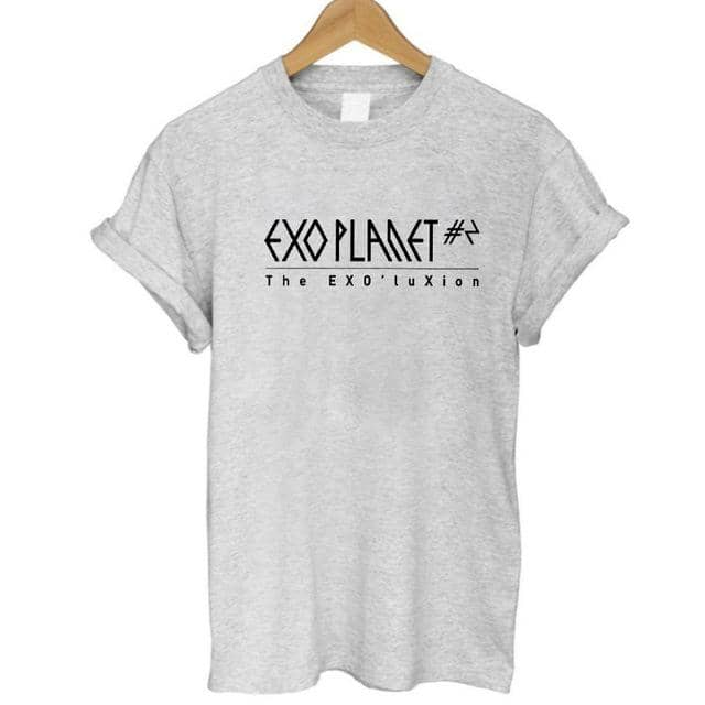 Kpop Newest COOLMIND EX0101B 100% cotton loose cool EXO print women T shirt casual short sleeve Tshirt women summer loose T-shirt female that you'll fall in love with. At an affordable price at KPOPSHOP, We sell a variety of COOLMIND EX0101B 100% cotton loose cool EXO print women T shirt casual short sleeve Tshirt women summer loose T-shirt female with Free Shipping.
