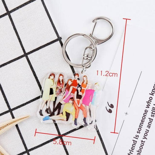 Creative kpop stray kids album photo key chain TWICE TXT REDVELVET Seventeen GOT7 ITZY stray kids kpop stationery set - Kpopshop