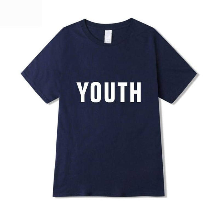 Kpop Newest Cross Border Hot Selling DAY6 YOUTH in Europe Ou Hao Shaw War Celebrity Style T-shirt Men And Women Short Sleeve that you'll fall in love with. At an affordable price at KPOPSHOP, We sell a variety of Cross Border Hot Selling DAY6 YOUTH in Europe Ou Hao Shaw War Celebrity Style T-shirt Men And Women Short Sleeve with Free Shipping.