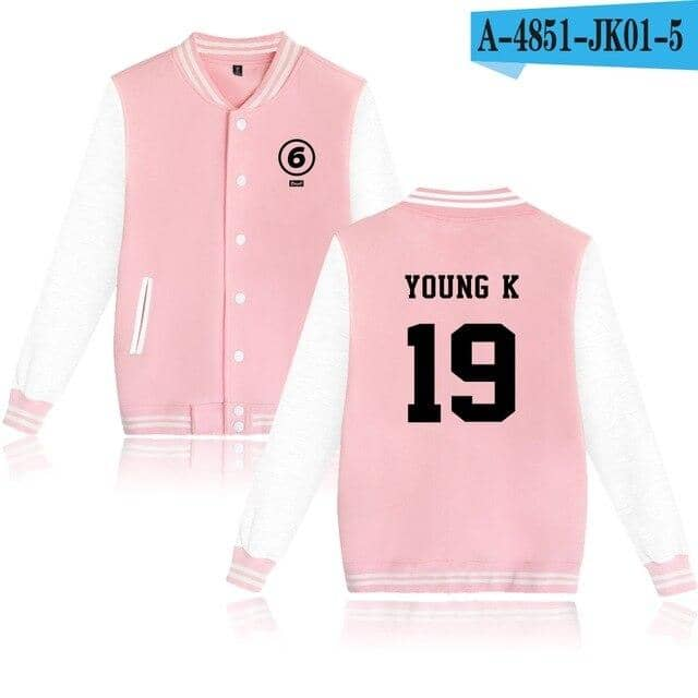 Kpop Newest DAY6 kpop fashion sport hip hop men women Baseball Jacket coats casual Long Sleeve harajuku Hoodies Jackets Sweatshirts tops 4XL that you'll fall in love with. At an affordable price at KPOPSHOP, We sell a variety of DAY6 kpop fashion sport hip hop men women Baseball Jacket coats casual Long Sleeve harajuku Hoodies Jackets Sweatshirts tops 4XL with Free Shipping.
