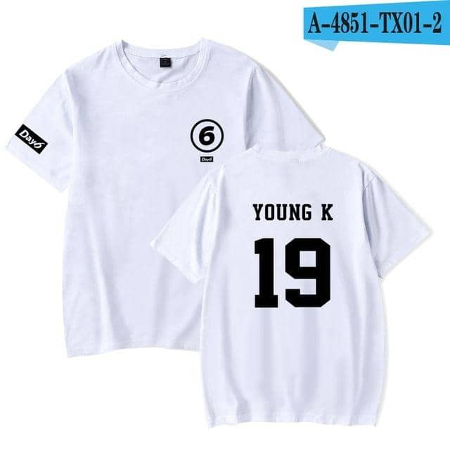 Kpop Newest Day6 T Shirts Summer Style Short Sleeves Fashion And Cool Day6 Tee Loose Casual tShirt Korean Day 6 Fan Support Harajuku Camisas that you'll fall in love with. At an affordable price at KPOPSHOP, We sell a variety of Day6 T Shirts Summer Style Short Sleeves Fashion And Cool Day6 Tee Loose Casual tShirt Korean Day 6 Fan Support Harajuku Camisas with Free Shipping.
