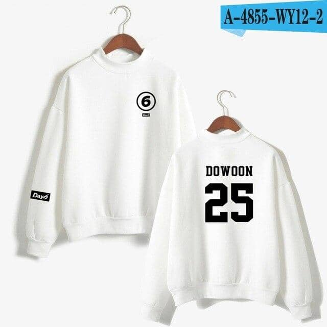 Kpop Newest Day6 Turtleneck Hoodies Sweatshirts Member Name Printed Pullover Long Sleeve Hoodie Sweatshirt Kpop Tracksuit Oversize Clothes that you'll fall in love with. At an affordable price at KPOPSHOP, We sell a variety of Day6 Turtleneck Hoodies Sweatshirts Member Name Printed Pullover Long Sleeve Hoodie Sweatshirt Kpop Tracksuit Oversize Clothes with Free Shipping.