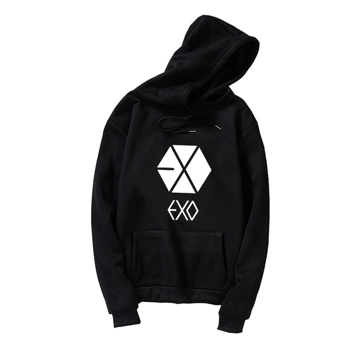 Kpop Newest EXO Hoodies Women Men Korean Kpop Sweatshirt Fan Supportive Clothes Casual Loose Harajuku Letter Print Tracksuits Tops Plus Size that you'll fall in love with. At an affordable price at KPOPSHOP, We sell a variety of EXO Hoodies Women Men Korean Kpop Sweatshirt Fan Supportive Clothes Casual Loose Harajuku Letter Print Tracksuits Tops Plus Size with Free Shipping.