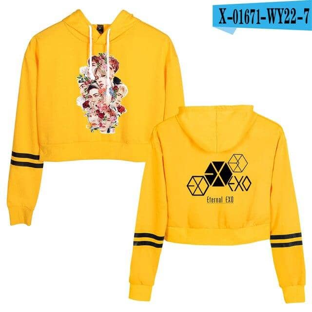 Kpop Newest EXO PLANET#5 short Hoodie Sweatshirts Serpents Streetwear Tops Spring EXO PLANET#5 Hoodies Female Hooded Harajuku Spring that you'll fall in love with. At an affordable price at KPOPSHOP, We sell a variety of EXO PLANET#5 short Hoodie Sweatshirts Serpents Streetwear Tops Spring EXO PLANET#5 Hoodies Female Hooded Harajuku Spring with Free Shipping.