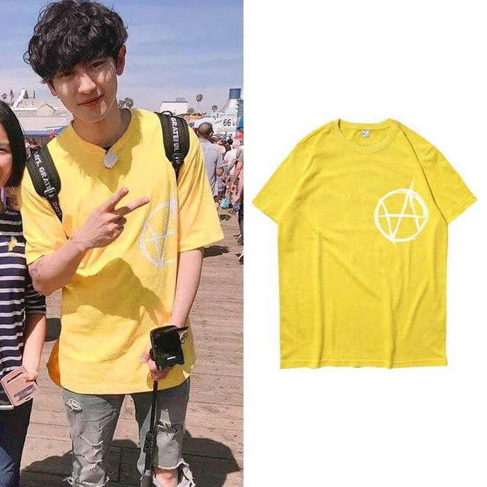 Kpop Newest EXO Street Short-Sleeved T-shirt Cotton Multi-Color Couple Men And Women T-shirt MH919 that you'll fall in love with. At an affordable price at KPOPSHOP, We sell a variety of EXO Street Short-Sleeved T-shirt Cotton Multi-Color Couple Men And Women T-shirt MH919 with Free Shipping.