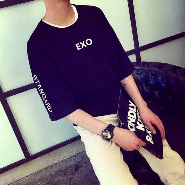 Kpop Newest EXO loose casual t shirt Men/Women Short Sleeve T-Shirt K-pop korea Summer popular t shirt KRIS LUHAN hip hop streetwear clothes that you'll fall in love with. At an affordable price at KPOPSHOP, We sell a variety of EXO loose casual t shirt Men/Women Short Sleeve T-Shirt K-pop korea Summer popular t shirt KRIS LUHAN hip hop streetwear clothes with Free Shipping.