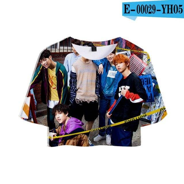 Kpop Newest FADUN TOMMY Summer Soft CropTops T-shirt 3D Stray Kids Summer Fashion Women Sexy Harajuku Clothes 2019 Hot Sale  T-shirt that you'll fall in love with. At an affordable price at KPOPSHOP, We sell a variety of FADUN TOMMY Summer Soft CropTops T-shirt 3D Stray Kids Summer Fashion Women Sexy Harajuku Clothes 2019 Hot Sale  T-shirt with Free Shipping.