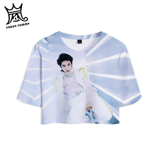 Kpop Newest TOMMY NCT 127 We Are Super Human 3D Print Women Crop Tops Kpop Casual Summer Short Sleeve T-shirt Fashion Streetwear shirt that you'll fall in love with. At an affordable price at KPOPSHOP, We sell a variety of TOMMY NCT 127 We Are Super Human 3D Print Women Crop Tops Kpop Casual Summer Short Sleeve T-shirt Fashion Streetwear shirt with Free Shipping.