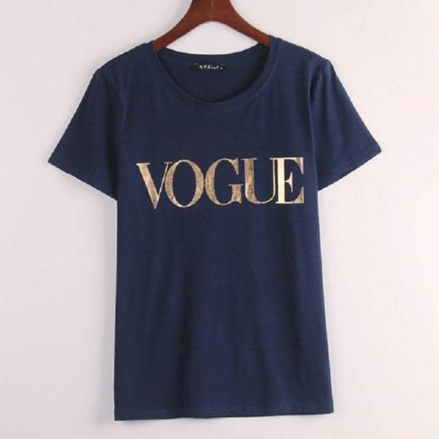 Brand T-Shirts Women T Shirts O-Neck Tops Tee Trend style Rose Vogue - Kpopshop