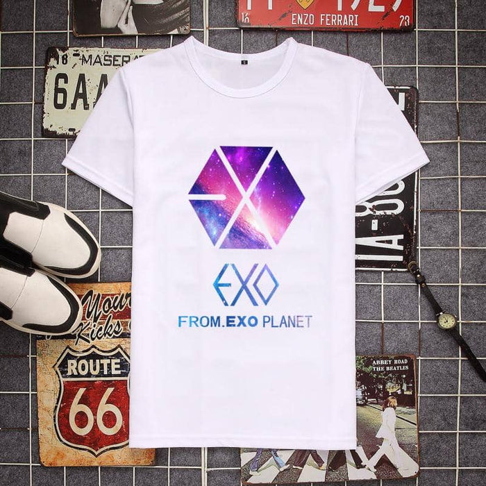 Kpop Newest Fashion Harajuku Kawaii Cotton Tshirt Women/Men loose Tops 2019 Summer new Plus Size Kpop EXO T-Shirt streetwear hip hop Tees that you'll fall in love with. At an affordable price at KPOPSHOP, We sell a variety of Fashion Harajuku Kawaii Cotton Tshirt Women/Men loose Tops 2019 Summer new Plus Size Kpop EXO T-Shirt streetwear hip hop Tees with Free Shipping.