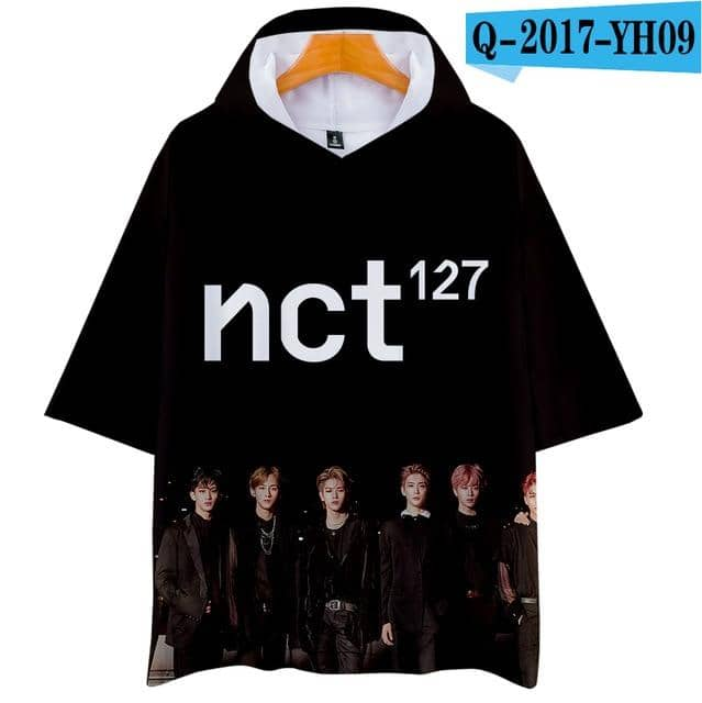 Kpop Newest Tommy 3D NCT 127 Hoodies T-shirt Summer Short Sleeve New Album Women/men Hoodies Pullovers 201 New Outwear Hoodies Shirt that you'll fall in love with. At an affordable price at KPOPSHOP, We sell a variety of Tommy 3D NCT 127 Hoodies T-shirt Summer Short Sleeve New Album Women/men Hoodies Pullovers 201 New Outwear Hoodies Shirt with Free Shipping.