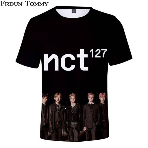 Kpop Newest Tommy 3D NCT 127 Menber Team Short SleeveT-Shirt Cool Fashion Popular T Shirt Summer Casual Unisex Clothes Kpop Shirt that you'll fall in love with. At an affordable price at KPOPSHOP, We sell a variety of Tommy 3D NCT 127 Menber Team Short SleeveT-Shirt Cool Fashion Popular T Shirt Summer Casual Unisex Clothes Kpop Shirt with Free Shipping.
