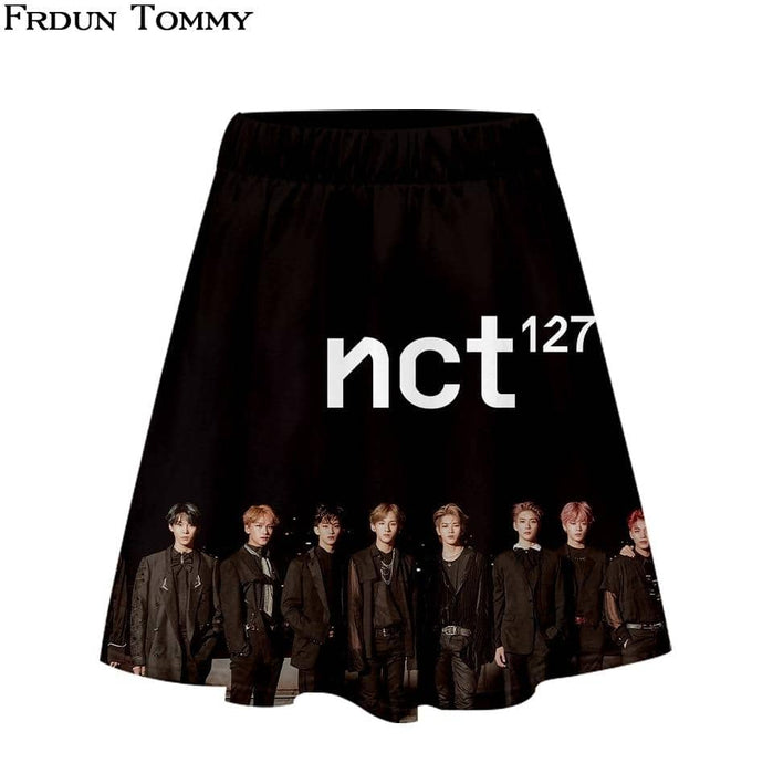 Kpop Newest Tommy NCT 127 Short skirt suit Beautiful Girl Short sleeve T-shirt and Short skirt suit Two Piece Casual New Style Sets that you'll fall in love with. At an affordable price at KPOPSHOP, We sell a variety of Tommy NCT 127 Short skirt suit Beautiful Girl Short sleeve T-shirt and Short skirt suit Two Piece Casual New Style Sets with Free Shipping.
