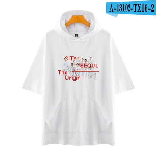 Kpop Newest Tommy New NEO CITY ALBUM Cool Kpop Nct 127 Idol Short Sleeve Hoodies Women Men Loose T-shirt Korean Hip Hop Pullovers that you'll fall in love with. At an affordable price at KPOPSHOP, We sell a variety of Tommy New NEO CITY ALBUM Cool Kpop Nct 127 Idol Short Sleeve Hoodies Women Men Loose T-shirt Korean Hip Hop Pullovers with Free Shipping.