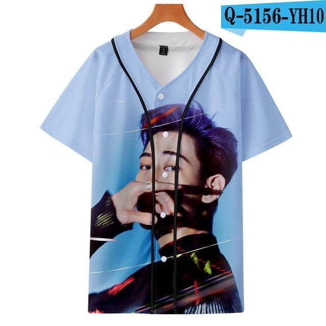 Kpop Newest GOT7 3D Printed Baseball T-shirts Women/Men Fashion Summer Short Sleeve Tshirt 2019 Hot Sale Casual Streetwear Clothes that you'll fall in love with. At an affordable price at KPOPSHOP, We sell a variety of GOT7 3D Printed Baseball T-shirts Women/Men Fashion Summer Short Sleeve Tshirt 2019 Hot Sale Casual Streetwear Clothes with Free Shipping.