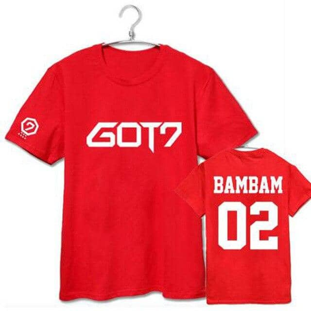 Kpop Newest GOT7 kpop Harajuku T Shirt Couple Clothes Letter Print Short Sleeve T-Shirts For Women Men Summer Paired Tshirt Tops Plus Size that you'll fall in love with. At an affordable price at KPOPSHOP, We sell a variety of GOT7 kpop Harajuku T Shirt Couple Clothes Letter Print Short Sleeve T-Shirts For Women Men Summer Paired Tshirt Tops Plus Size with Free Shipping.