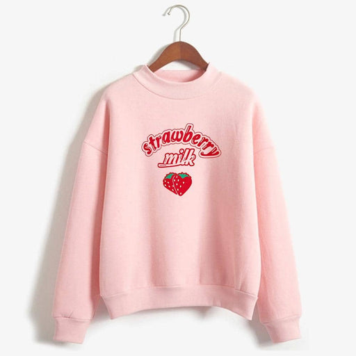 Kpop Newest Harajuku Kawaii Strawberry Hoodie Sweatshirt Women 2019 Korean Fashion Kpop Street Style Sweatshirts Schoolgirl Streetwear that you'll fall in love with. At an affordable price at KPOPSHOP, We sell a variety of Harajuku Kawaii Strawberry Hoodie Sweatshirt Women 2019 Korean Fashion Kpop Street Style Sweatshirts Schoolgirl Streetwear with Free Shipping.