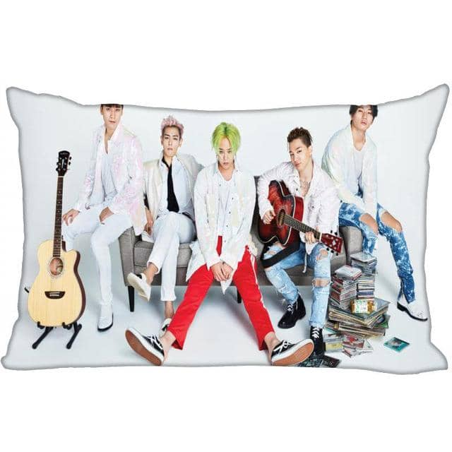 Kpop Newest Hot Custom KPOP BIGBANG Rectangular Pillowcase Home Bedroom Living Room Silk Pillowcase Two Sides Printing More Size that you'll fall in love with. At an affordable price at KPOPSHOP, We sell a variety of Hot Custom KPOP BIGBANG Rectangular Pillowcase Home Bedroom Living Room Silk Pillowcase Two Sides Printing More Size with Free Shipping.