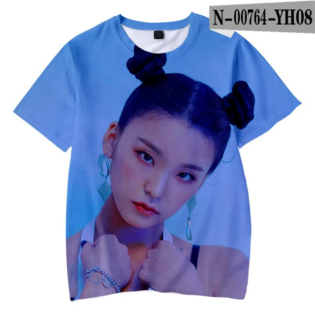 ITZY  3D  T-shirts Girl's  Kpop Kids Children - Kpopshop