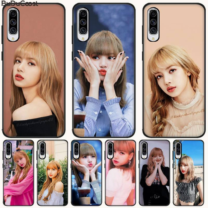 Jomy lisa blackpinks girl Phone Case For Samsung A10 20 30 40 50 70 10S 20S 2 Core C8 A30S A50S A7 8 9