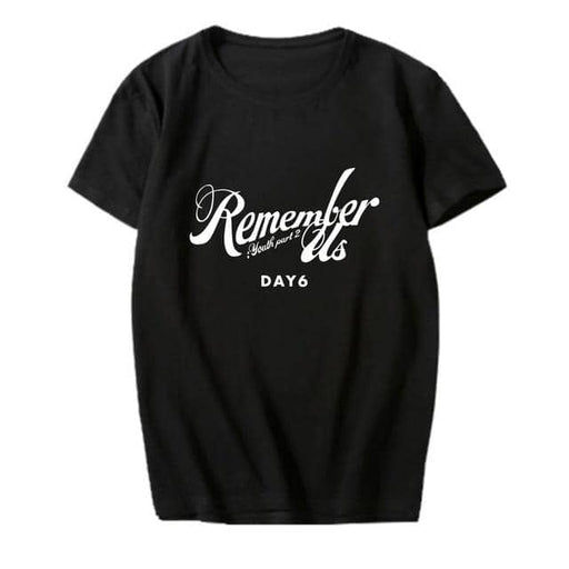 Kpop Newest K-pop DAY6 Album <Remember Us : Youth Part 2> Supporting T-shirt Kpop DAY6 Short Sleeve Tshirt Summer Cotton Tops Fan Collection that you'll fall in love with. At an affordable price at KPOPSHOP, We sell a variety of K-pop DAY6 Album <Remember Us : Youth Part 2> Supporting T-shirt Kpop DAY6 Short Sleeve Tshirt Summer Cotton Tops Fan Collection with Free Shipping.