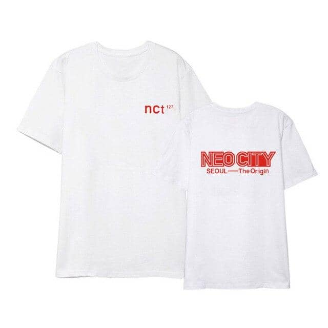 Kpop Newest K-pop NCT 127 short-sleeved Seoul concert officially around the same paragraph T-shirt male and female students summer kpop that you'll fall in love with. At an affordable price at KPOPSHOP, We sell a variety of K-pop NCT 127 short-sleeved Seoul concert officially around the same paragraph T-shirt male and female students summer kpop with Free Shipping.