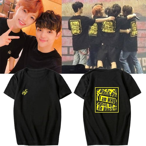 Kpop Newest K-pop Stray Kids Album <I am WHO> Concert Supporting Tshirt Stray Kids Summer Short Sleeve T-shirts Cotton Tops Fans Collection that you'll fall in love with. At an affordable price at KPOPSHOP, We sell a variety of K-pop Stray Kids Album <I am WHO> Concert Supporting Tshirt Stray Kids Summer Short Sleeve T-shirts Cotton Tops Fans Collection with Free Shipping.