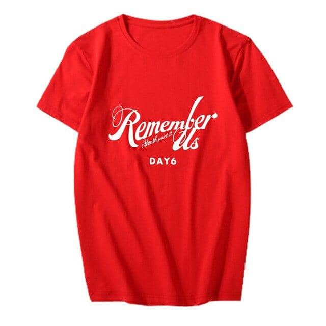 Kpop Newest KPOP DAY6 Album Remember Us Youth Part 2 Tees Hip Hop Tshirt T Shirt Short Sleeve Tops T-shirts PT1024 that you'll fall in love with. At an affordable price at KPOPSHOP, We sell a variety of KPOP DAY6 Album Remember Us Youth Part 2 Tees Hip Hop Tshirt T Shirt Short Sleeve Tops T-shirts PT1024 with Free Shipping.