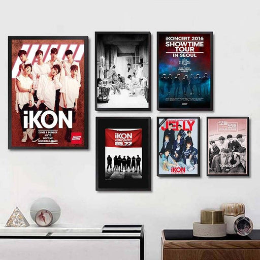 Kpop Newest KPOP IKONIGHT Korean men's band High Definition Wall Stickers white poster Home Decoration for Livingroom Bedroom Home Art Brand that you'll fall in love with. At an affordable price at KPOPSHOP, We sell a variety of KPOP IKONIGHT Korean men's band High Definition Wall Stickers white poster Home Decoration for Livingroom Bedroom Home Art Brand with Free Shipping.