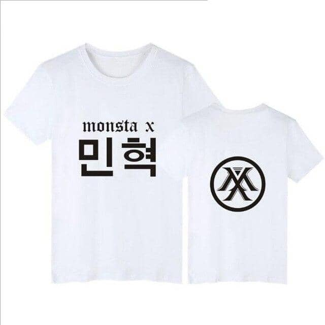 Kpop Newest KPOP Monsta X Concert Same Printed O-Neck Short Sleeve T Shirt For Fans Supportive Hip Hop T-Shirt Women Tshirts Tee Shirt Femme that you'll fall in love with. At an affordable price at KPOPSHOP, We sell a variety of KPOP Monsta X Concert Same Printed O-Neck Short Sleeve T Shirt For Fans Supportive Hip Hop T-Shirt Women Tshirts Tee Shirt Femme with Free Shipping.