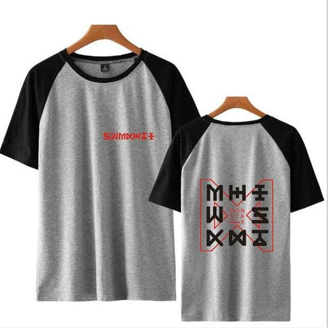 Kpop Newest KPOP Monsta X T Shirt Women Long Sleeve Round Neck T-Shirts Casual Baseball Tshirt Female Raglan Tee Streetwear Brand Clothing that you'll fall in love with. At an affordable price at KPOPSHOP, We sell a variety of KPOP Monsta X T Shirt Women Long Sleeve Round Neck T-Shirts Casual Baseball Tshirt Female Raglan Tee Streetwear Brand Clothing with Free Shipping.