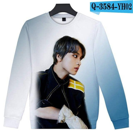 Kpop Newest KPOP NCT 127 3D Hoodie Women Casual Crewneck Sweatshirts Harajuku Pullover Streetwear Fashion Female Cool Tops Poleron Mujer that you'll fall in love with. At an affordable price at KPOPSHOP, We sell a variety of KPOP NCT 127 3D Hoodie Women Casual Crewneck Sweatshirts Harajuku Pullover Streetwear Fashion Female Cool Tops Poleron Mujer with Free Shipping.