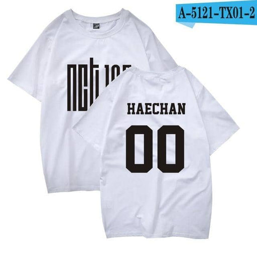 Kpop Newest KPOP NCT127 T Shirt Women Men Korean Style NCT 127 DREAM Member Name Print Cotton Short Sleeve Tee Shirt Femme Camiseta Mujer that you'll fall in love with. At an affordable price at KPOPSHOP, We sell a variety of KPOP NCT127 T Shirt Women Men Korean Style NCT 127 DREAM Member Name Print Cotton Short Sleeve Tee Shirt Femme Camiseta Mujer with Free Shipping.
