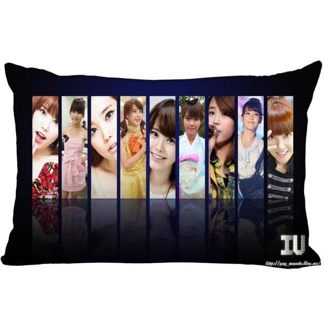 Kpop Newest KPOP star IU rectangular pillowcase two sided printing satin pillow cover Custom your image gift that you'll fall in love with. At an affordable price at KPOPSHOP, We sell a variety of KPOP star IU rectangular pillowcase two sided printing satin pillow cover Custom your image gift with Free Shipping.
