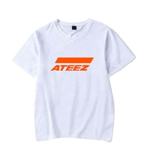 Korea KPOP ATEEZ T Shirt Men Women Hip Pop Streetwear Casual Short Sleeve Cool Tshirt Funny Graphic Tees Tops Instagram Clothing