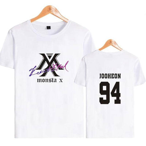 Kpop Newest Korean Fashion KPOP MONSTA X T Shirt Women Men Plus Size Tee Shirt Femme Summer Short Sleeve Cotton Funny Tshirt Camiseta Mujer that you'll fall in love with. At an affordable price at KPOPSHOP, We sell a variety of Korean Fashion KPOP MONSTA X T Shirt Women Men Plus Size Tee Shirt Femme Summer Short Sleeve Cotton Funny Tshirt Camiseta Mujer with Free Shipping.