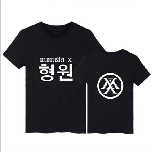 Kpop Newest Korean KPOP Monsta X T Shirt For Women Men WONHO YOOKIHYUN I.M JOOHEON HYUNGWON Short Sleeve Cotton T-Shirt Tees Couple Clothes that you'll fall in love with. At an affordable price at KPOPSHOP, We sell a variety of Korean KPOP Monsta X T Shirt For Women Men WONHO YOOKIHYUN I.M JOOHEON HYUNGWON Short Sleeve Cotton T-Shirt Tees Couple Clothes with Free Shipping.