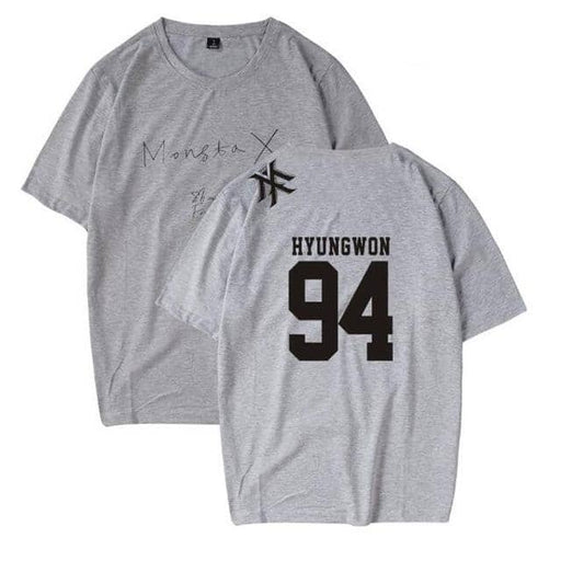 Kpop Newest Korean style K POP K-POP KPOP Monsta x Album JOOHEON I.M YOOKIHYUN WONHO Short Sleeve Cotton T Shirt Women Men Hip Hop Clothing that you'll fall in love with. At an affordable price at KPOPSHOP, We sell a variety of Korean style K POP K-POP KPOP Monsta x Album JOOHEON I.M YOOKIHYUN WONHO Short Sleeve Cotton T Shirt Women Men Hip Hop Clothing with Free Shipping.