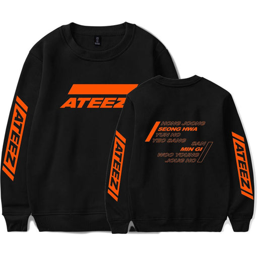 Kpop ATEEZ Printed Hoodie Sweatshirt Women and Men Casual Clothes 2020 Hot Sale Long Sleeve Hoodies Sweatshirts Plus Size XXXXL