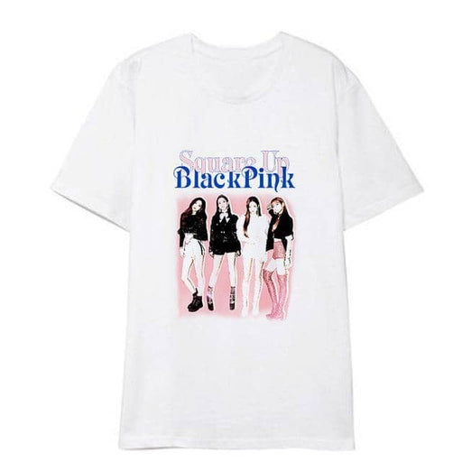 Kpop Newest Kpop BLACKPINK JISOO white cotton loose Harajuku T-shirt Women Popular Hip Hop t shirt Short-sleeve korean summer Casual Clothes that you'll fall in love with. At an affordable price at KPOPSHOP, We sell a variety of Kpop BLACKPINK JISOO white cotton loose Harajuku T-shirt Women Popular Hip Hop t shirt Short-sleeve korean summer Casual Clothes with Free Shipping.
