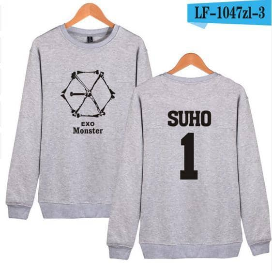 Kpop Newest Kpop EXO Hoodie Sweatshirt Women/Men Korean Popular Hip Hop Winter Tracksuit Fashion Women Hoodies Sweatshirts Casual Clothes that you'll fall in love with. At an affordable price at KPOPSHOP, We sell a variety of Kpop EXO Hoodie Sweatshirt Women/Men Korean Popular Hip Hop Winter Tracksuit Fashion Women Hoodies Sweatshirts Casual Clothes with Free Shipping.