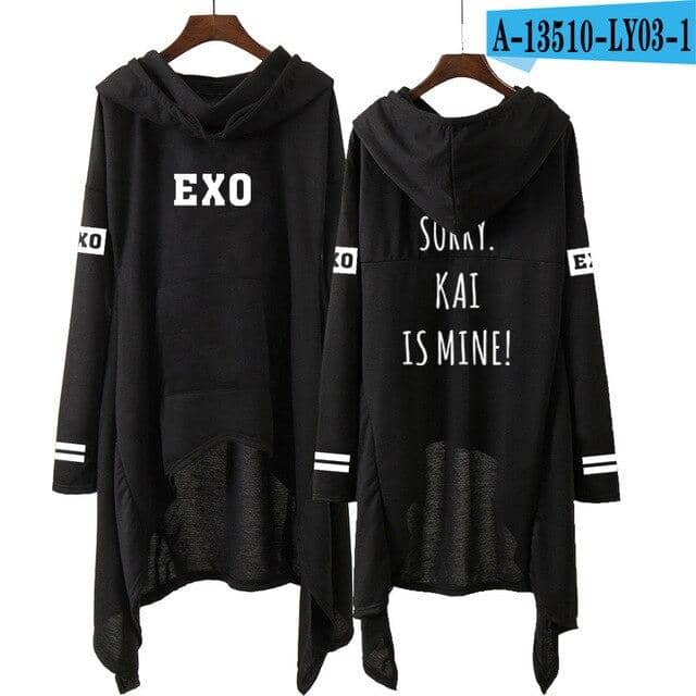 Kpop Newest Kpop EXO New Fashion Korean EXO DO LAY SE HUN KAI SING FOR YOU EXO Hoodies Long Skirt Women Harajuku Sweatshirts Girls Pullovers that you'll fall in love with. At an affordable price at KPOPSHOP, We sell a variety of Kpop EXO New Fashion Korean EXO DO LAY SE HUN KAI SING FOR YOU EXO Hoodies Long Skirt Women Harajuku Sweatshirts Girls Pullovers with Free Shipping.
