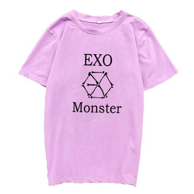 Kpop Newest Kpop EXO T-Shirt Women Short Sleeve Cotton Letter Printed O-Neck Femme Tops Summer Fashion Casual Korean T Shirt Tops Tee Shirts that you'll fall in love with. At an affordable price at KPOPSHOP, We sell a variety of Kpop EXO T-Shirt Women Short Sleeve Cotton Letter Printed O-Neck Femme Tops Summer Fashion Casual Korean T Shirt Tops Tee Shirts with Free Shipping.
