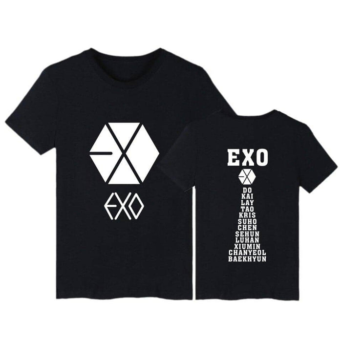 Kpop Newest Kpop EXO print summer T shirt unisex short sleeve Tshirt Female Clothing harajuku casual t-shirt women Tops Tumblr T shirts that you'll fall in love with. At an affordable price at KPOPSHOP, We sell a variety of Kpop EXO print summer T shirt unisex short sleeve Tshirt Female Clothing harajuku casual t-shirt women Tops Tumblr T shirts with Free Shipping.