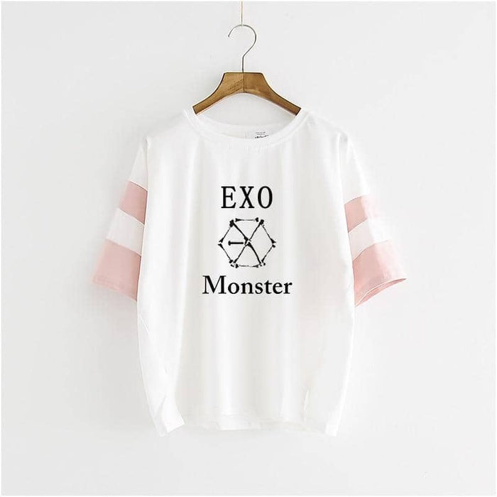 Kpop Newest Kpop EXO tres series monstruo de manga corta T- de vestir blusa masculina y alumnas de k-pop exo Camiseta k pop T-shirt that you'll fall in love with. At an affordable price at KPOPSHOP, We sell a variety of Kpop EXO tres series monstruo de manga corta T- de vestir blusa masculina y alumnas de k-pop exo Camiseta k pop T-shirt with Free Shipping.