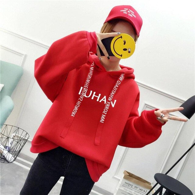 Kpop Love Yourself K Pop Women Hoodies Sweatshirts Hoodies Outwear Hip-Hop Bangtan Boys EXO Sweatshirt Hoodies