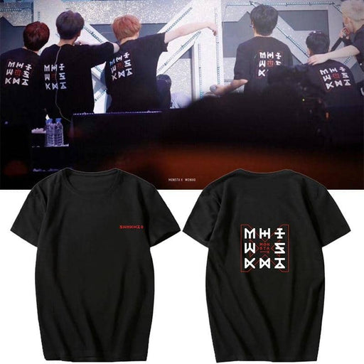 Kpop Newest Kpop Monsta X The Code Concert Same Print Womens T Shirts  O Neck Short Sleeve Summer Fashion Loose Fans Gift Drop Ship that you'll fall in love with. At an affordable price at KPOPSHOP, We sell a variety of Kpop Monsta X The Code Concert Same Print Womens T Shirts  O Neck Short Sleeve Summer Fashion Loose Fans Gift Drop Ship with Free Shipping.
