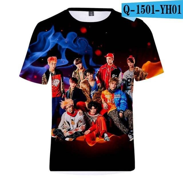 Kpop Newest Kpop NCT U 127 3d t shirt women men Idol Group Album Streetwear Hip Hop tshirt t-shirt Member Name Printed Fans t shirts tops that you'll fall in love with. At an affordable price at KPOPSHOP, We sell a variety of Kpop NCT U 127 3d t shirt women men Idol Group Album Streetwear Hip Hop tshirt t-shirt Member Name Printed Fans t shirts tops with Free Shipping.